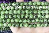 CLJ526 15.5 inches 4mm,6mm,8mm,10mm & 12mm round sesame jasper beads