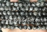 CLJ531 15.5 inches 4mm,6mm,8mm,10mm & 12mm round sesame jasper beads