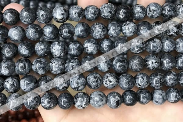 CLJ532 15.5 inches 4mm,6mm,8mm,10mm & 12mm round sesame jasper beads