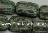 CME40 15.5 inches 20*30mm rectangle emerald gemstone beads