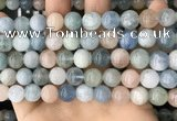 CMG422 15.5 inches 10mm round natural morganite gemstone beads