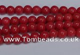 CMJ106 15.5 inches 4mm round Mashan jade beads wholesale
