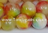 CMJ1063 15.5 inches 12mm round jade beads wholesale