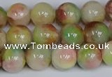 CMJ1076 15.5 inches 8mm round jade beads wholesale