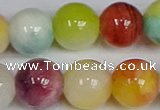 CMJ1088 15.5 inches 12mm round jade beads wholesale