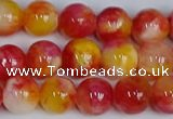 CMJ1136 15.5 inches 8mm round jade beads wholesale