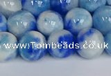 CMJ1196 15.5 inches 8mm round jade beads wholesale