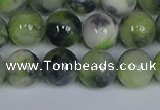 CMJ1216 15.5 inches 8mm round jade beads wholesale