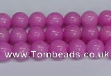 CMJ206 15.5 inches 8mm round Mashan jade beads wholesale