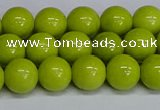 CMJ221 15.5 inches 10mm round Mashan jade beads wholesale