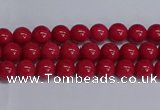 CMJ239 15.5 inches 4mm round Mashan jade beads wholesale