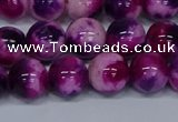 CMJ585 15.5 inches 10mm round rainbow jade beads wholesale