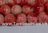 CMJ684 15.5 inches 12mm round rainbow jade beads wholesale