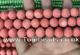 CMJ829 15.5 inches 12mm round matte Mashan jade beads wholesale