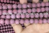 CMJ833 15.5 inches 10mm round matte Mashan jade beads wholesale