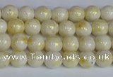 CMJ900 15.5 inches 4mm round Mashan jade beads wholesale