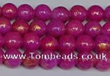 CMJ925 15.5 inches 4mm round Mashan jade beads wholesale