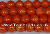 CMJ930 15.5 inches 4mm round Mashan jade beads wholesale