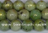 CMJ982 15.5 inches 8mm round Mashan jade beads wholesale