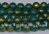 CMJ990 15.5 inches 4mm round Mashan jade beads wholesale