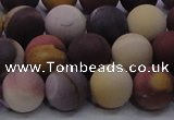 CMK294 15.5 inches 12mm round matte mookaite beads wholesale