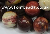 CMK61 15.5 inches 20mm round mookaite gemstone beads wholesale