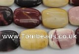 CMK98 15.5 inches 15*20mm rectangle mookaite beads wholesale