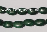 CMN270 15.5 inches 8*12mm oval natural malachite beads wholesale