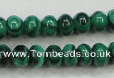 CMN400 15.5 inches 4*6mm rondelle natural malachite beads wholesale