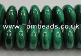 CMN401 15.5 inches 5*8mm rondelle natural malachite beads wholesale