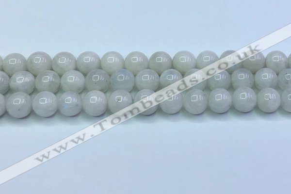 CMS1492 15.5 inches 10mm round white moonstone beads wholesale