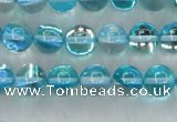 CMS1551 15.5 inches 6mm round synthetic moonstone beads wholesale