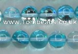 CMS1553 15.5 inches 10mm round synthetic moonstone beads wholesale
