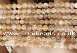 CMS1711 15.5 inches 5mm round rainbow moonstone beads wholesale