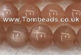 CMS1898 15.5 inches 10mm round moonstone gemstone beads