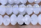 CMS1925 15.5 inches 4*6mm faceted rondelle white moonstone beads