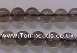 CMS859 15.5 inches 8mm round A grade natural black moonstone beads