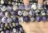CNA1087 15.5 inches 16mm round dogtooth amethyst beads wholesale