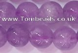 CNA954 15.5 inches 8mm round natural lavender amethyst beads
