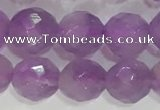 CNA963 15.5 inches 6mm faceted round natural lavender amethyst beads