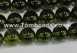 CNC432 15.5 inches 8mm round dyed natural white crystal beads