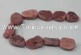 CNG1525 8 inches 15*20mm - 25*30mm freeform agate beads