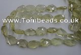 CNG1828 15.5 inches 20*25mm - 22*30mm faceted freeform lemon quartz beads