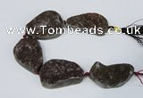 CNG2133 7.5 inches 25*30mm - 30*35mm freeform agate beads