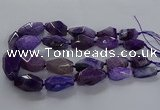 CNG2732 15.5 inches 15*30mm - 20*40mm nuggets agate beads