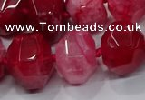 CNG3177 15.5 inches 12*16mm - 25*30mm nuggets agate beads