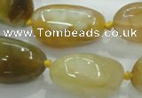 CNG346 15.5 inches 15*20mm - 20*28mm nuggets agate gemstone beads