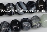 CNG35 15.5 inches 11*15mm nuggets madagascar agate gemstone beads