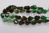 CNG3511 15.5 inches 15*20mm - 18*25mm faceted nuggets agate beads