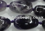 CNG354 15.5 inches 15*20mm - 25*35mm nuggets amethyst beads